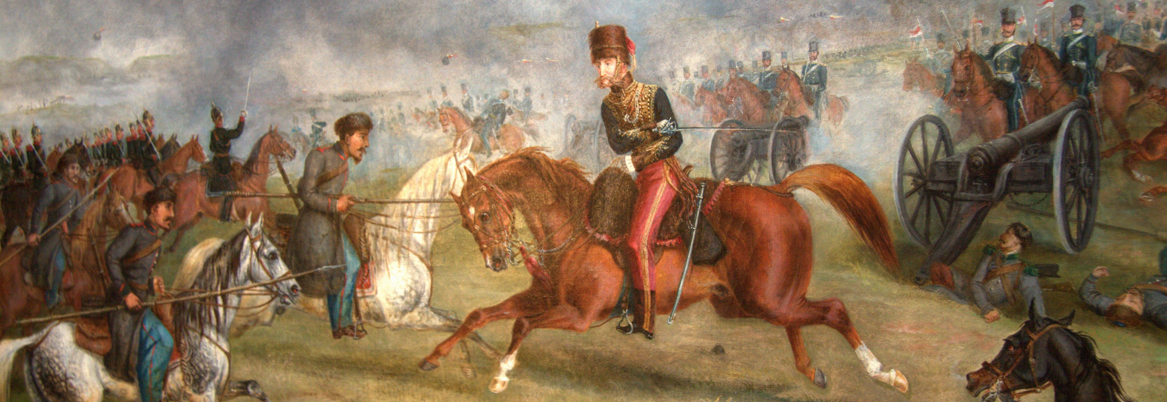 Lord Cardigan Leading the Charge of the Light Brigade
