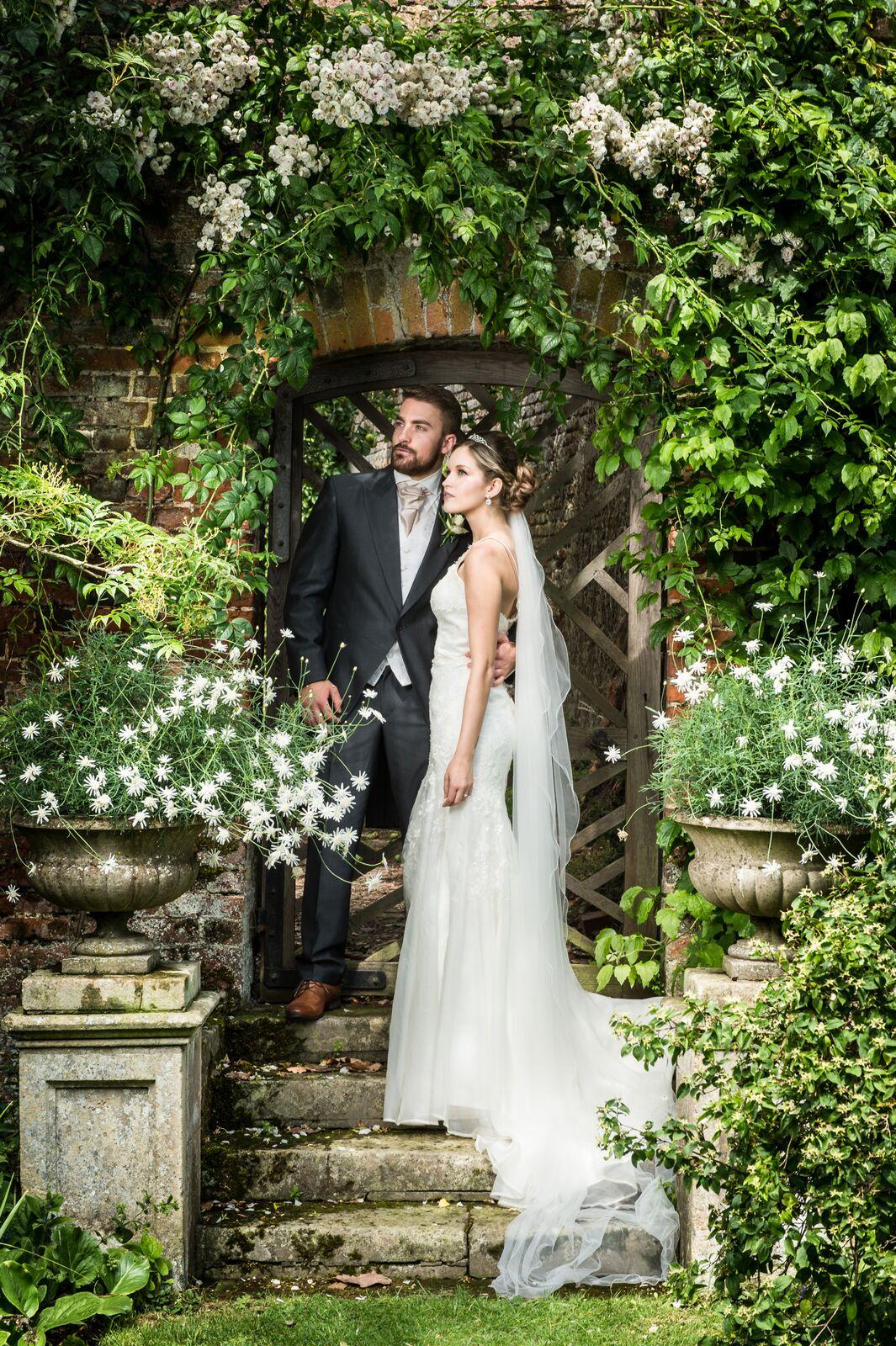 Deene Park Bride and Groom