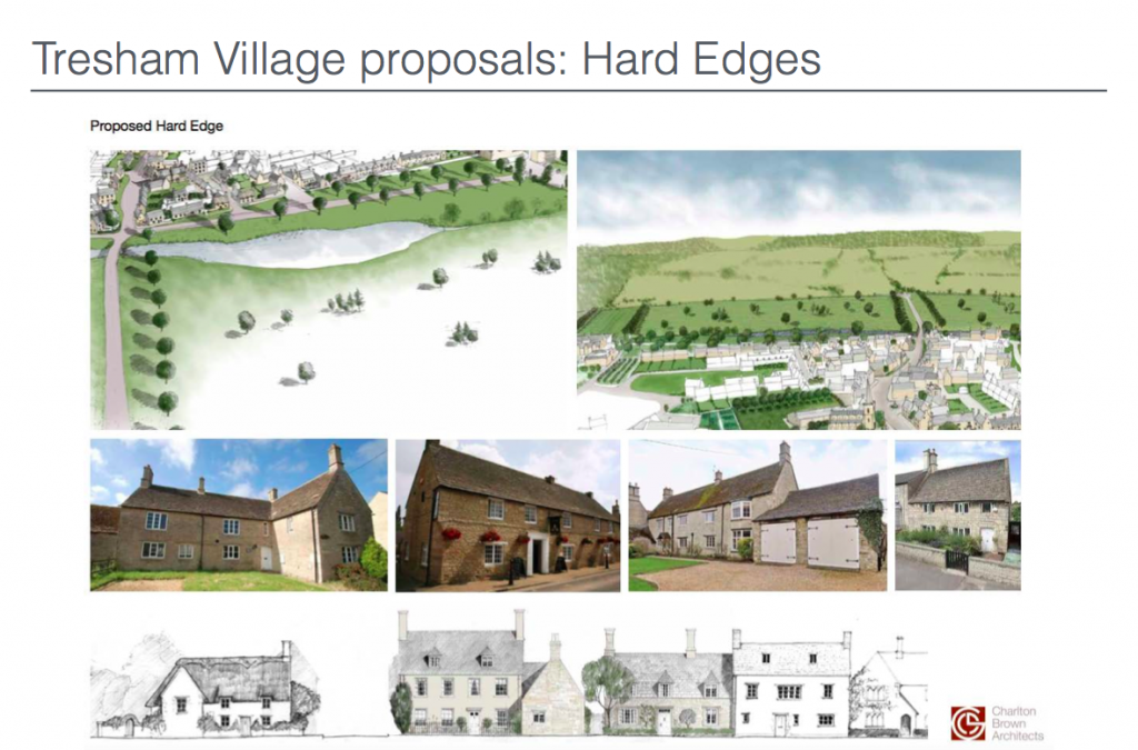 Tresham Village Proposals: Hard Edges