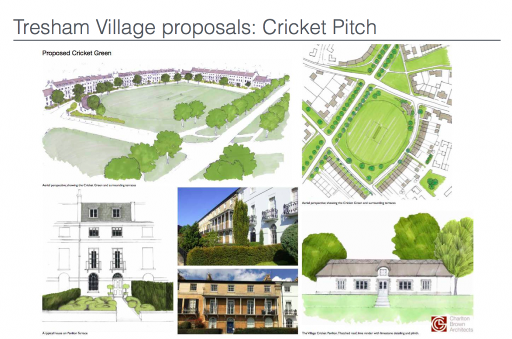 Tresham Village Proposals: Cricket Pitch