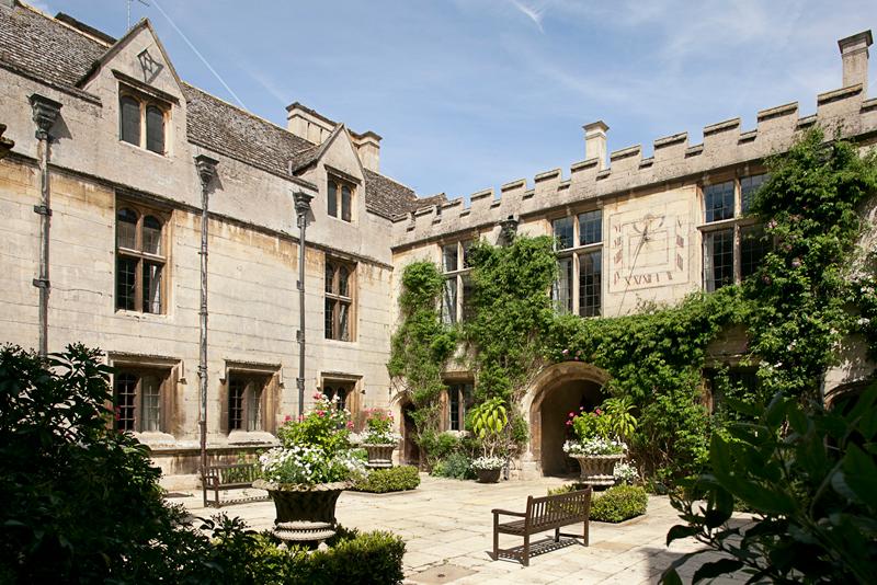 Deene Park Courtyard
