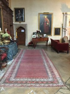 Great Hall Carpet After Restoration