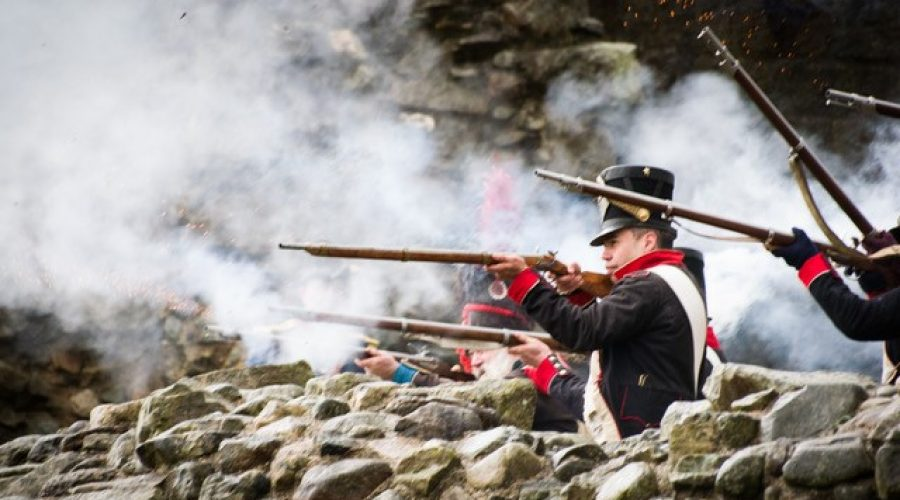 Napoleonic Living History Skirmish at Deene Park Saturday 13th & Sunday 14th July 12pm – 4pm
