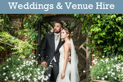 Weddings and Venue Hire at Deene Park