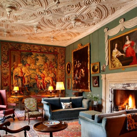 The Tapestry Room at Deene Park