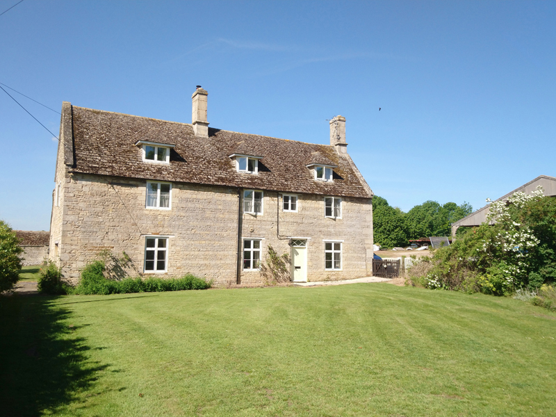 Home Farmhouse grade II listed 5 bedroom detached house with well proportioned gardens